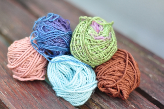 Yarn Tasting Samples