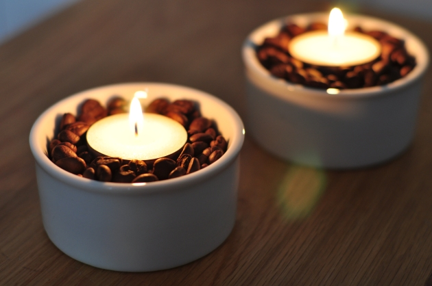Vanilla Coffee Candles