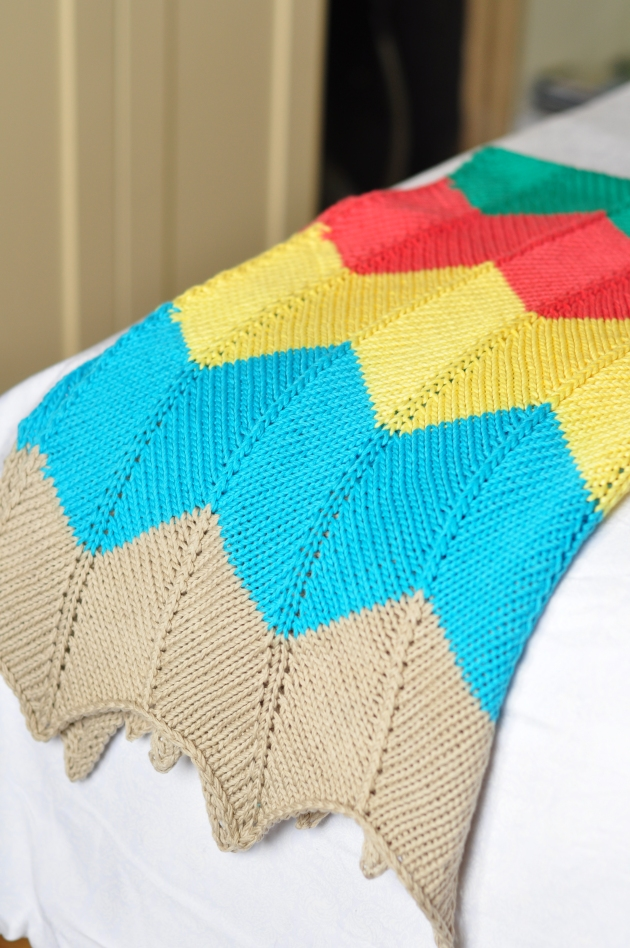 Chevron Blanket 002