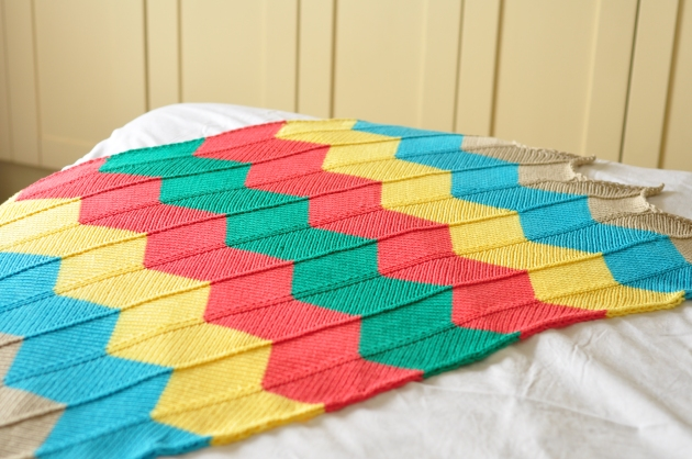 Chevron Blanket 013