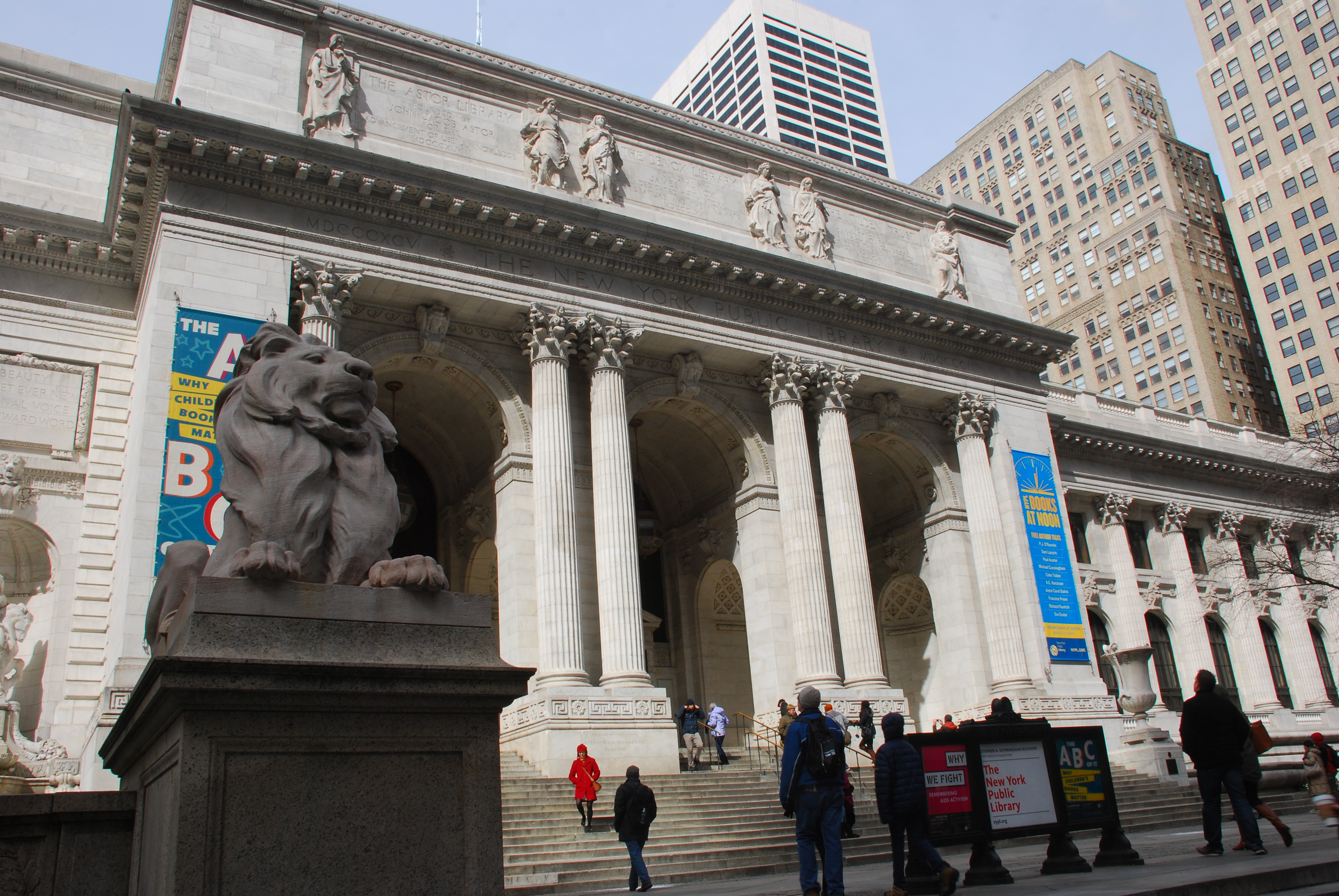 Library tourism – New York Public Library