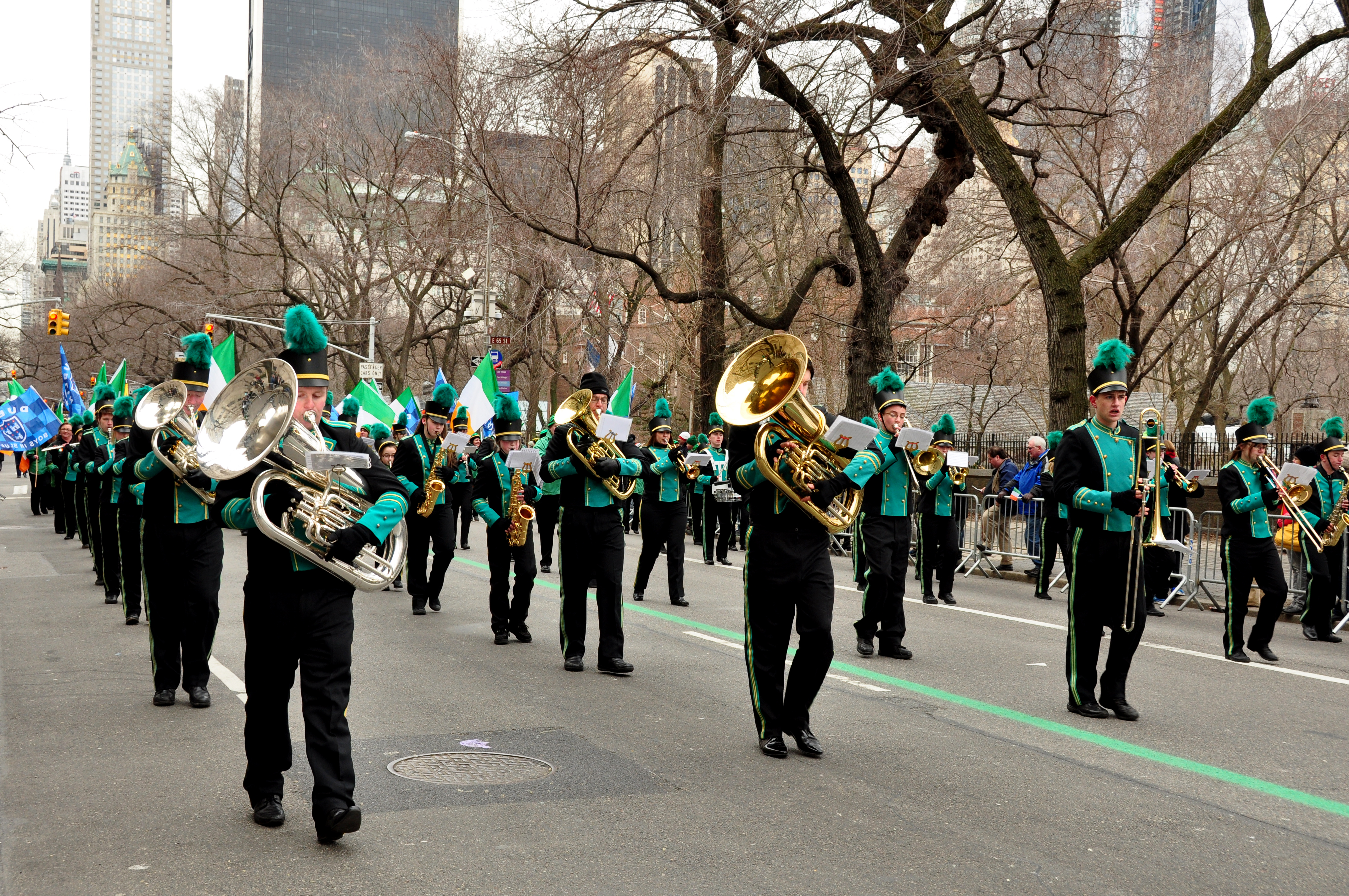 St. Patrick's Day in New York