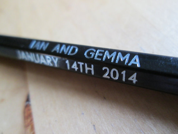 NevinaandThom customised pencils