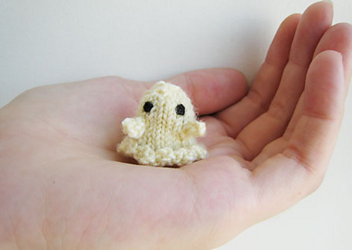 Tiny Ghost by Anna Hrachovec